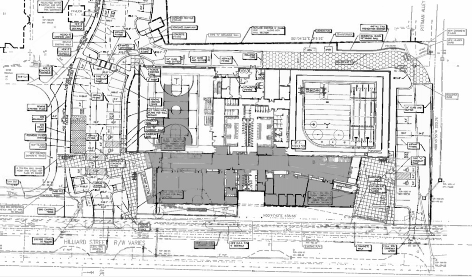 Here's what the inside of O4W's new natatorium will probably